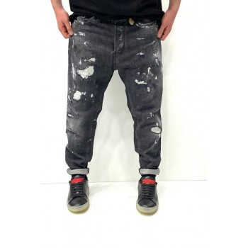 YES LONDON jeans NERO