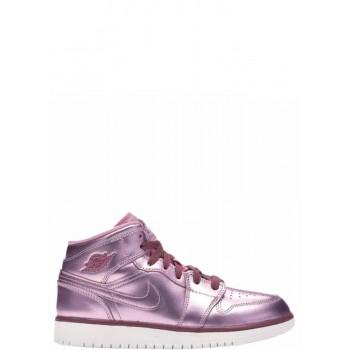 JORDAN 1 MID scarpe PINK RISE 640